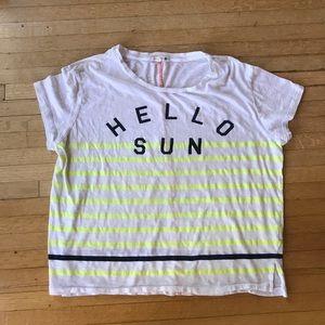 Hello Sun Sundry tee!💛